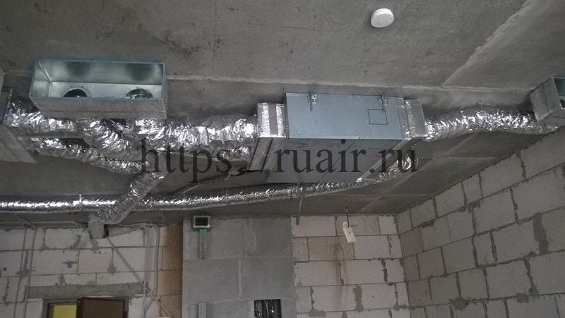 Установка канального кондиционера в доме домашние кондиционеры в санкт петербурге